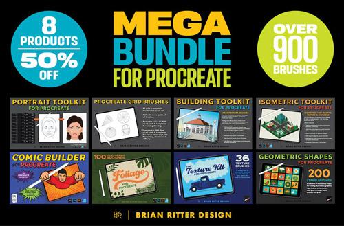 Mega Bundle for Procreate.jpg