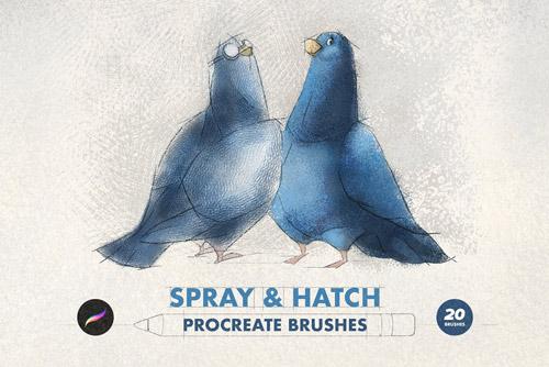 Spray & Hatch Procreate Brushes.jpg